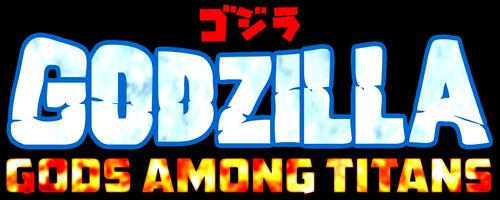Godzilla God Among Titans - Logo V2 by BlazerAjax220