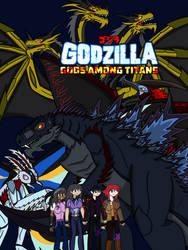 Godzilla: Gods Among Titans Official Poster by BlazerAjax220