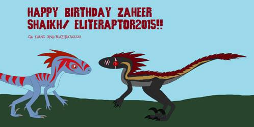 Happy Birthday Zaheer Gift 1 by BlazerAjax220