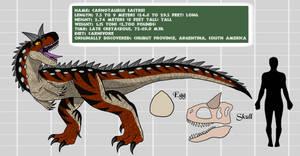 Project: Mesozoica Bio Files - CARNOTAURUS (M)