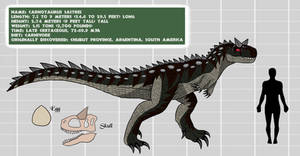 Project: Mesozoica Bio Files - CARNOTAURUS (F)