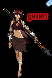 Feral Fangs - SHANTI by BlazerAjax220