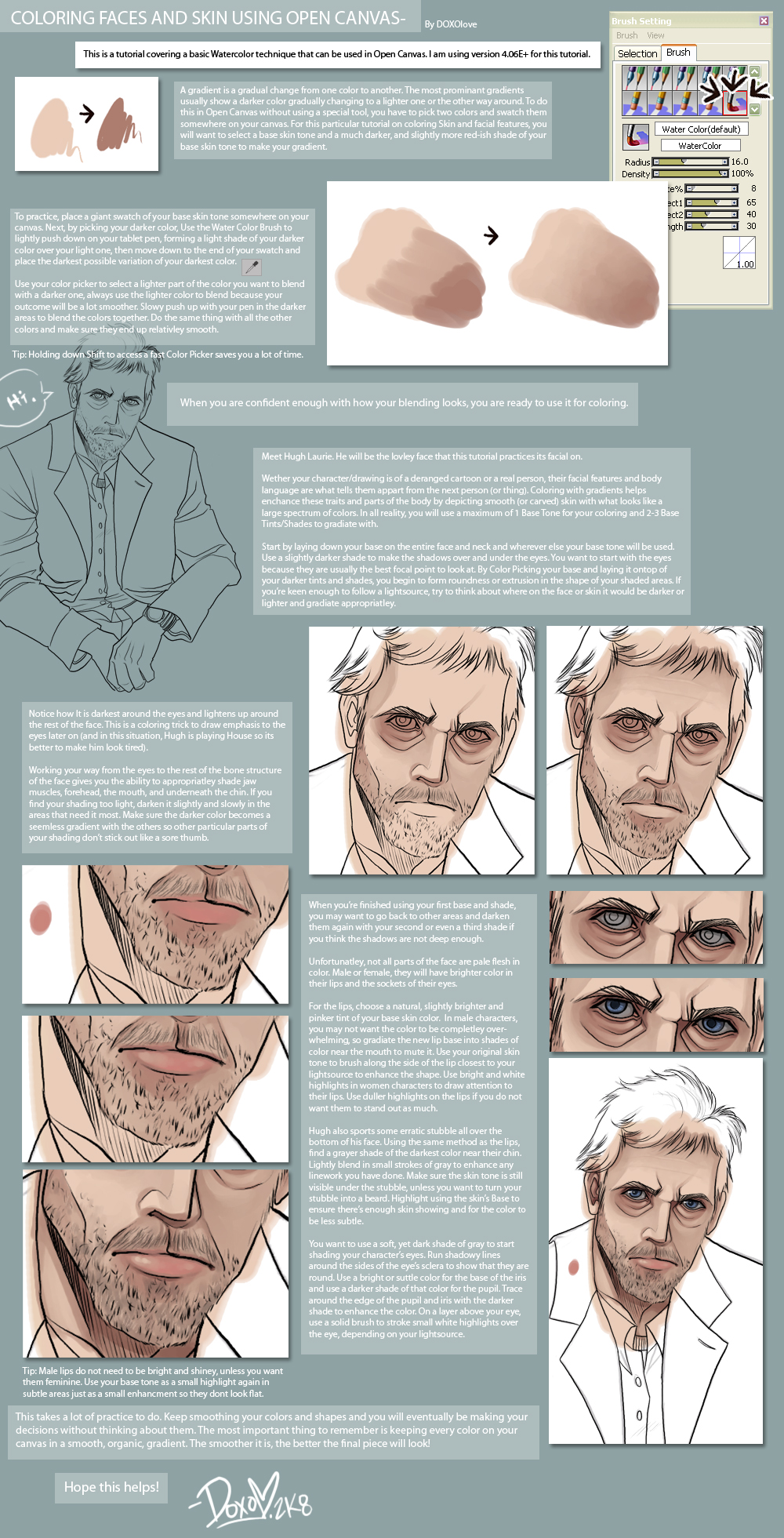 COLORING SKIN n FACES Tutorial by DOXOPHILIA on DeviantArt