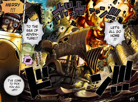 One Piece chpt 428 color