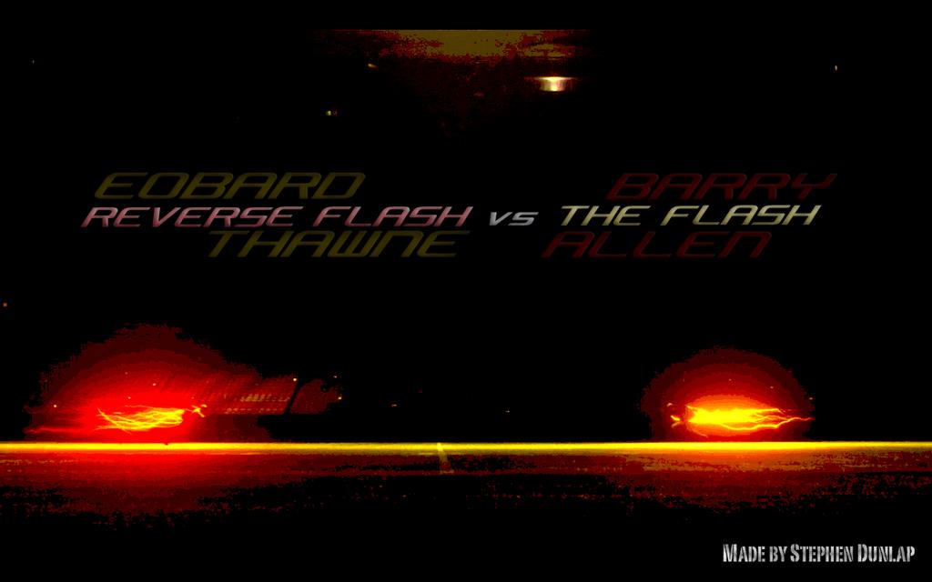 Flash Vs Reverse Flash Wallpaper: Wallpaper #5: Reverse Flash Vs. The Flash By SwagCentral47