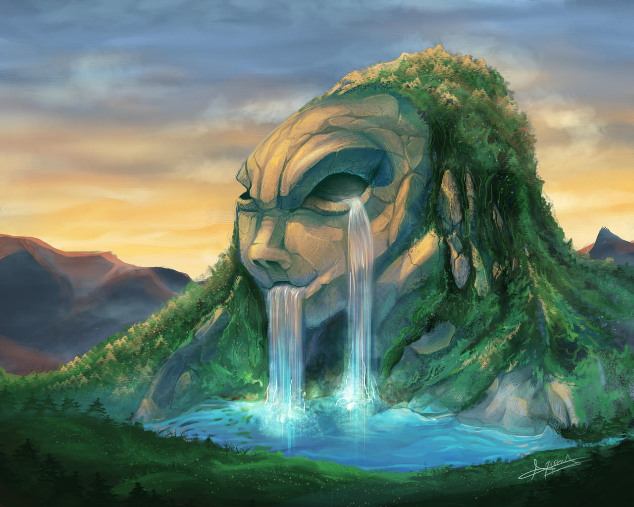 Fantasy Landscape Art