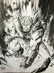 Goku, by: Jim Lee by CristhianFS