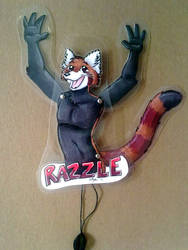 Razzle Moving Badge