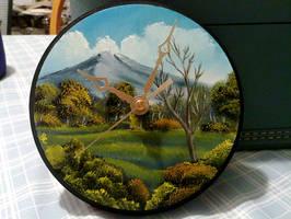 Mountain Meadow Clock