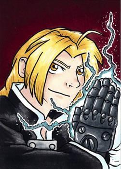 Edward Elric the Fullmetal Alchemist