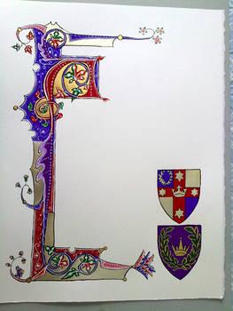 East Kingdom Lochac Gift Scroll