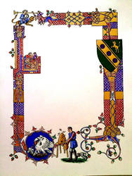 Dafydd's Order of the Pelican Scroll