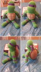 Crocheted Donatello