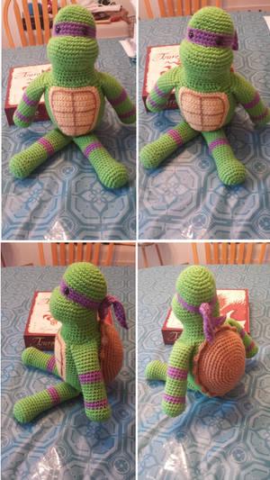 Crocheted Donatello