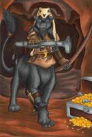 Evil T'irahna by hollyann