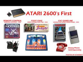 Atari 2600 Was First. by Atariboy2600