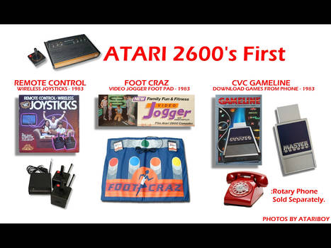 Atari 2600 Was First. by Atariboy2600