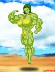 Hulked Up Anime Girls no4