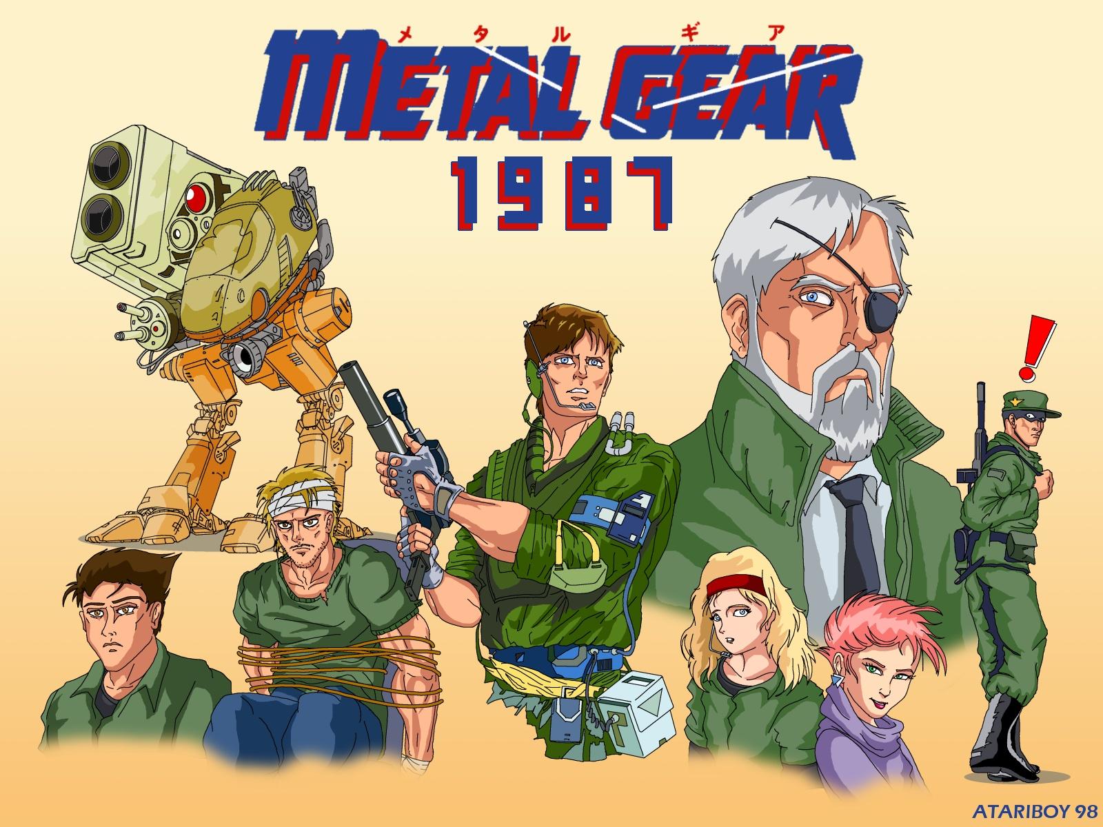 Resultado de imagen para Metal Gear(NES)