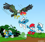 New Coleco Smurf Label Art.