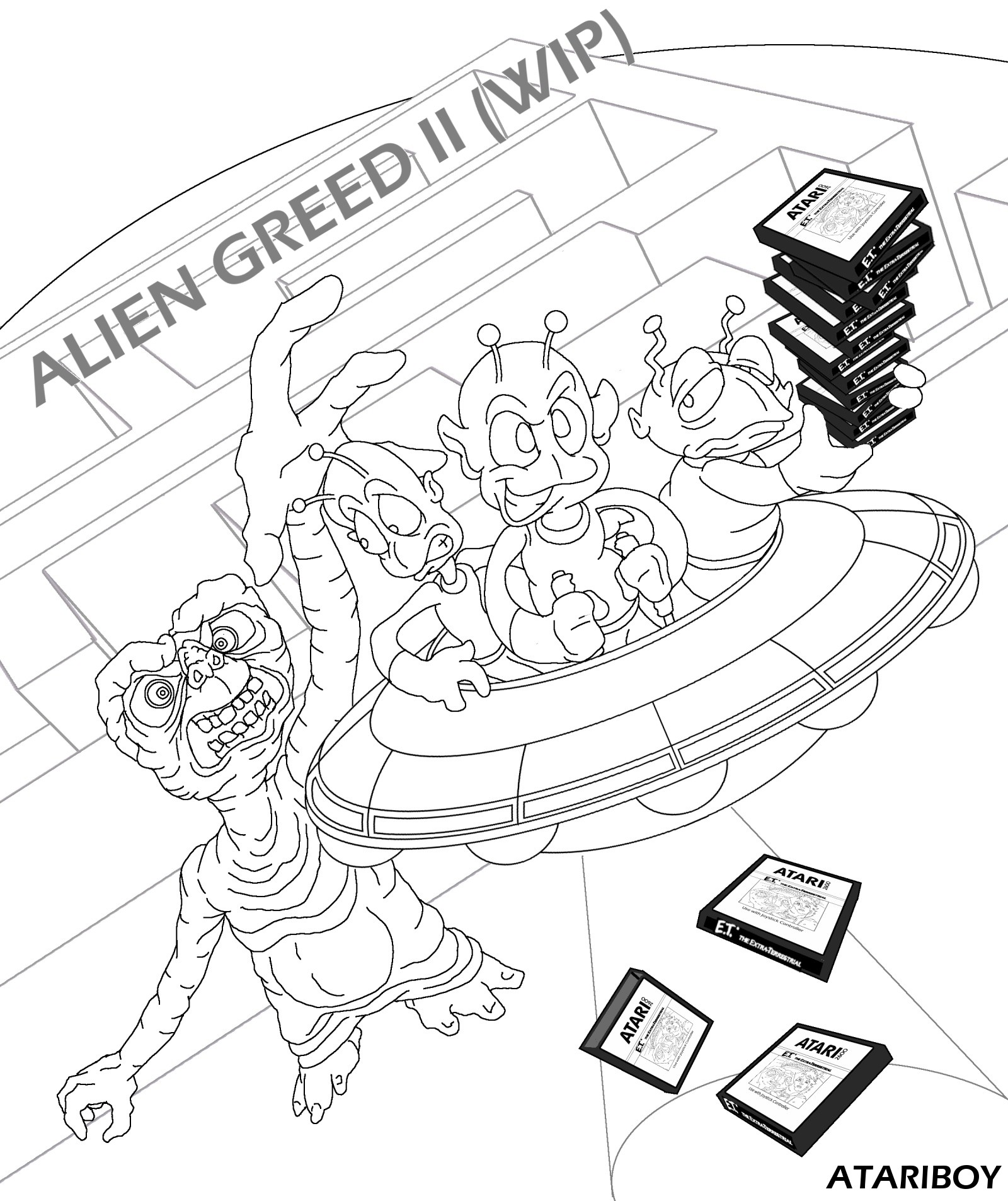Zoop in addition ATARI Alien Greed II Label WIP 77206178 together with Jeux moreover Nintendo 3ds Stylus likewise Sega Master System Schematic. on game boy cartridge