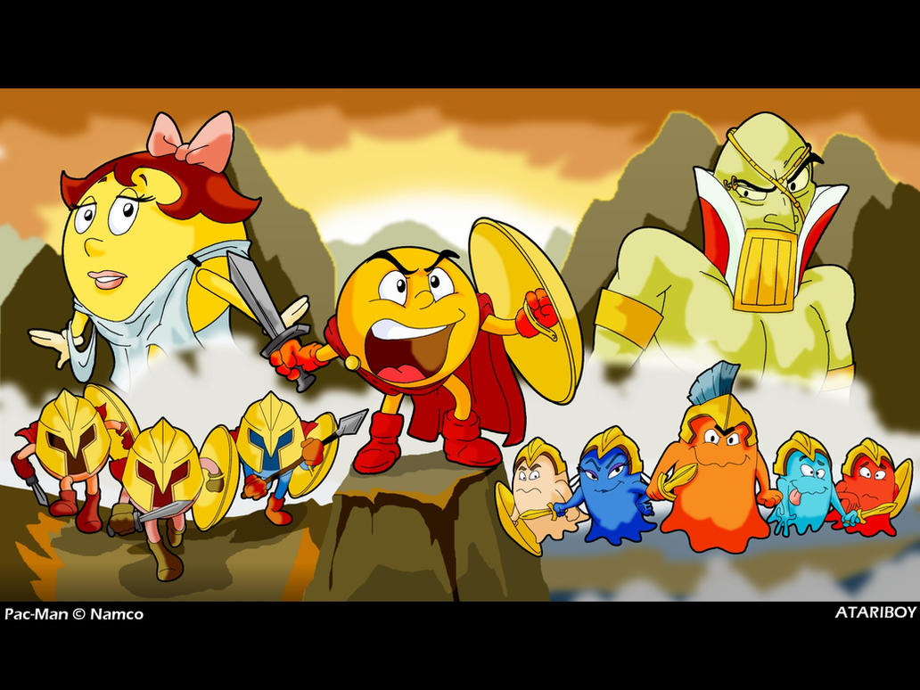 Pacman Deviantart 2019: This Is PAC-LAND By Atariboy2600 On DeviantArt