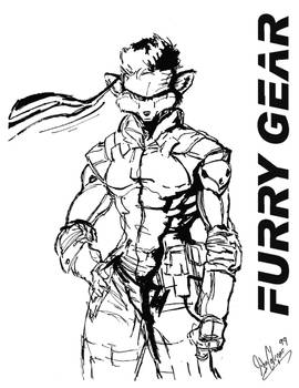 Furry Gear Solid.