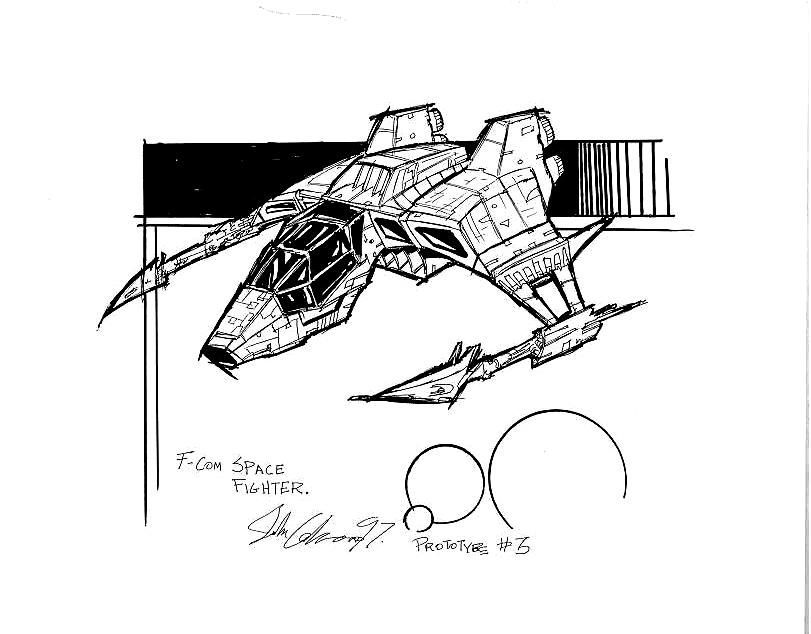 F-COM Star Fighter proto 3. by Atariboy2600