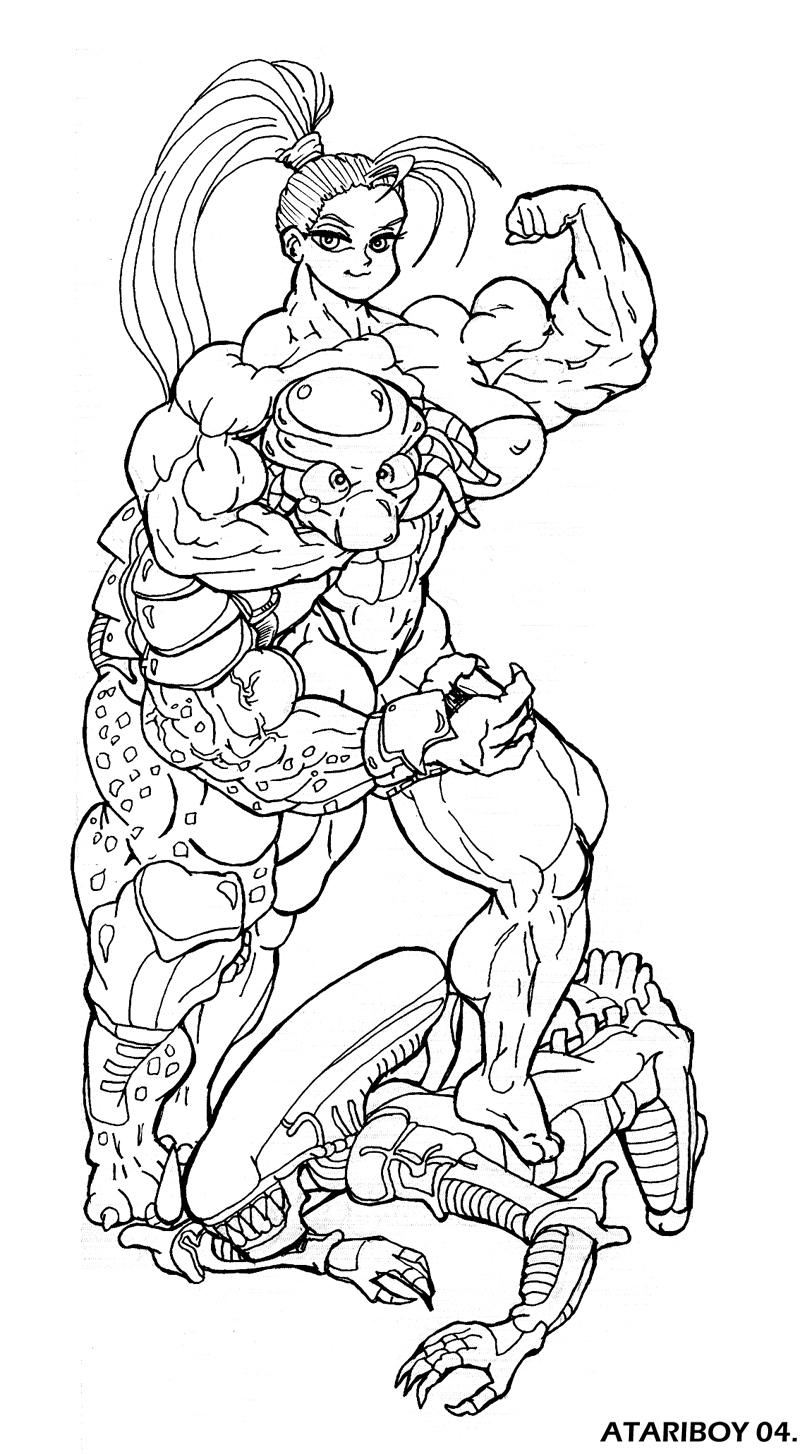alien movie coloring page - photo #9