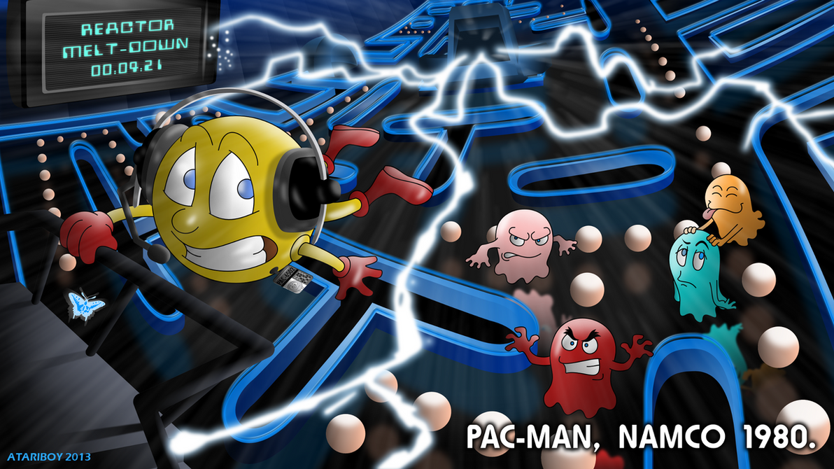 Pacman Fanfic - Pac-Man 1980. by Atariboy2600