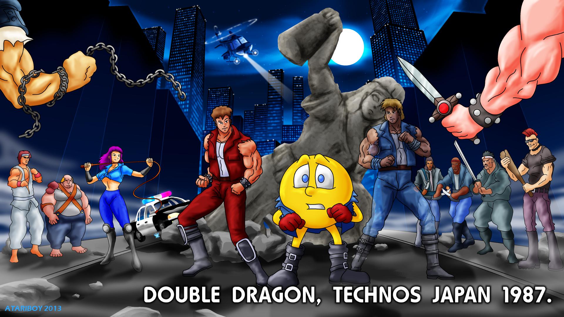 Pacman Deviantart 2019: Double Dragon Fan Art Collection