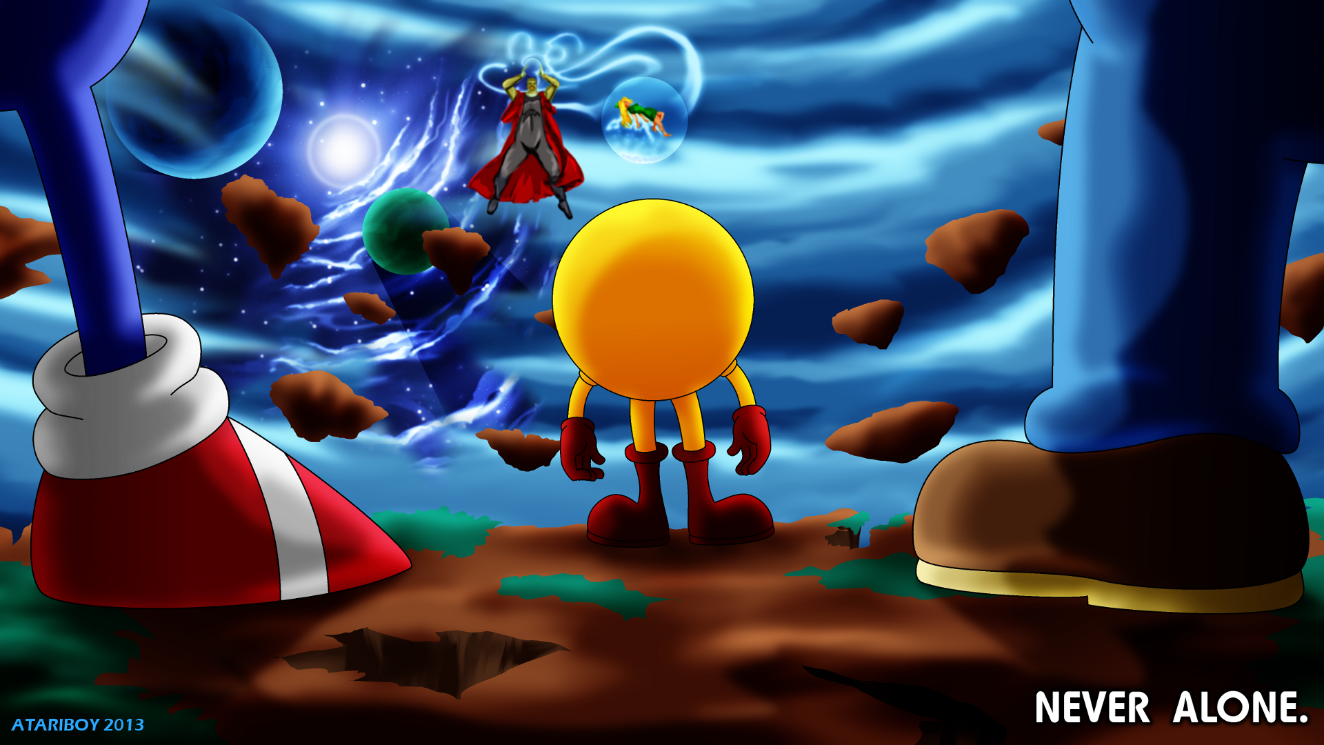 Pac Man Movie Fanfic Artwork Classic Gaming General