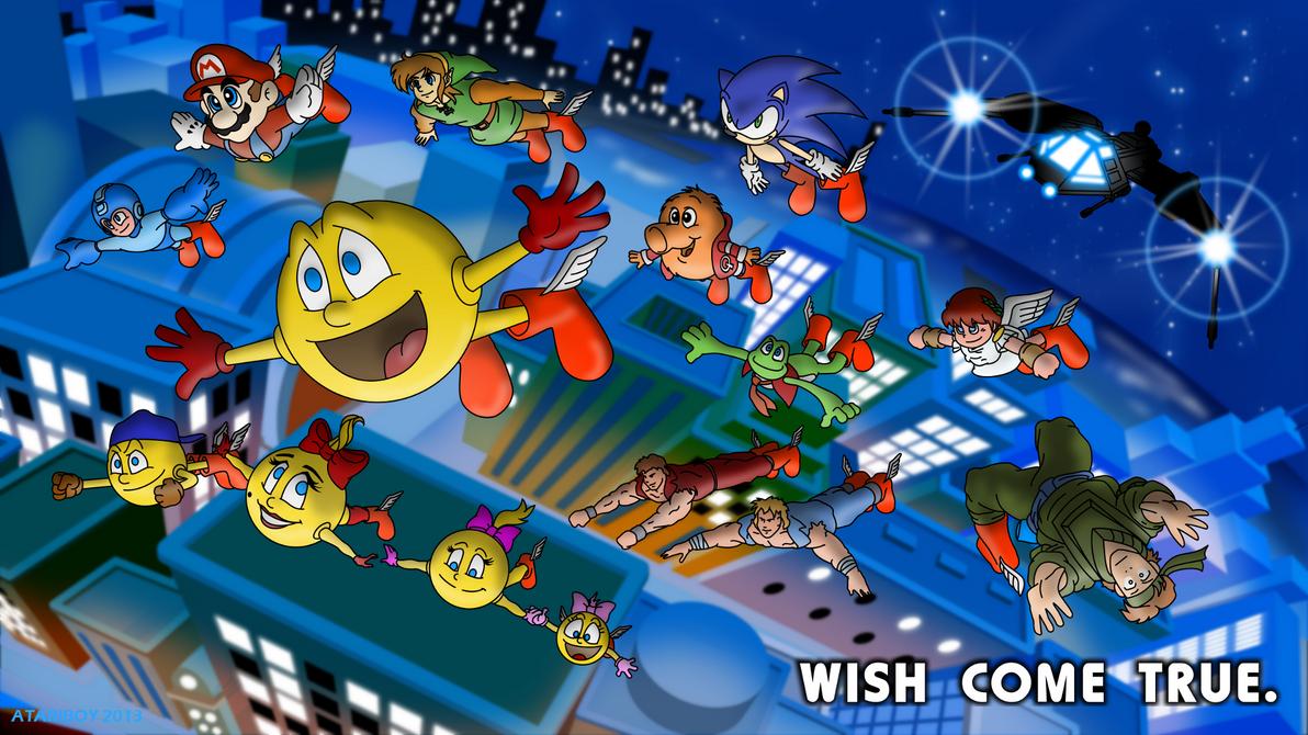 Pacman Deviantart 2019: Wish Come True. By Atariboy2600 On DeviantArt