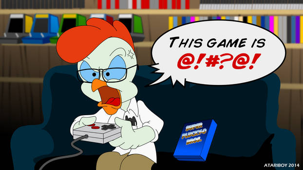 Tiny Toon - The Angry Video Game Bird.