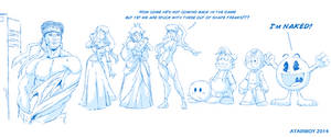 SSBB Wii u - Snake, Snake? SNAKE!!! by Atariboy2600