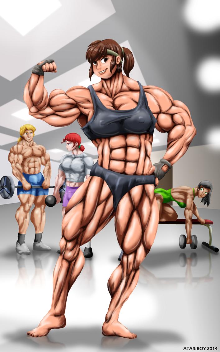Akiko Daimon - Damn Girl! by Atariboy2600