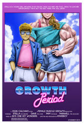 Growth Period - 80's Movie Poster. by Atariboy2600