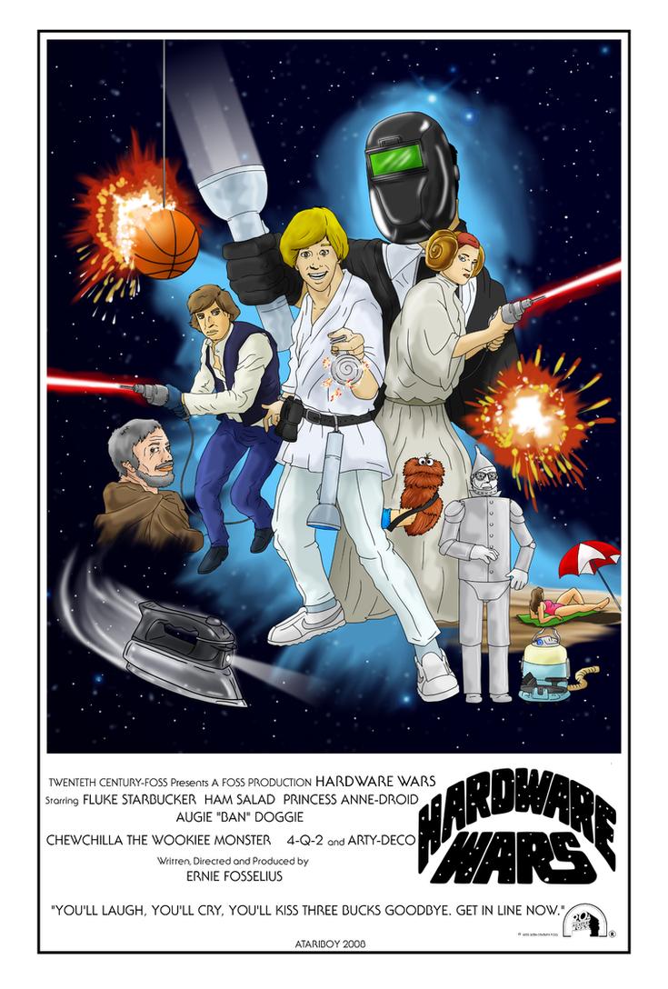 Hardware Wars: First Star Wars Parody Ever Filmed. by Atariboy2600