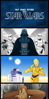 Once Upon A Time In A Galaxy Far Far Away. by Atariboy2600