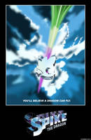 Spike The Dragon: Movie Poster. by Atariboy2600