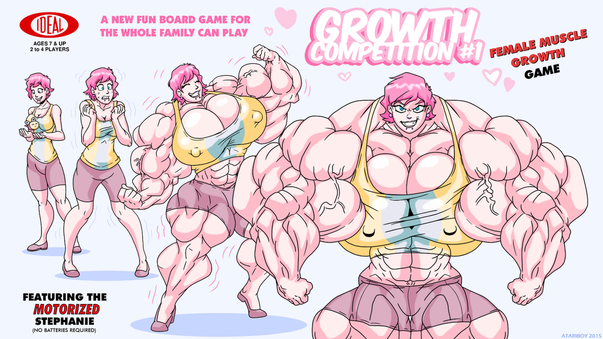 Growth Competition The Board Game. by Atariboy2600 on DeviantArt
