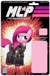 MLP Action Figure Label Cover - Pinkie Pie.