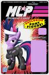 MLP Action Figure Label Cover - Twilight Sparkle.
