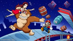 I Heart Donkey Kong.
