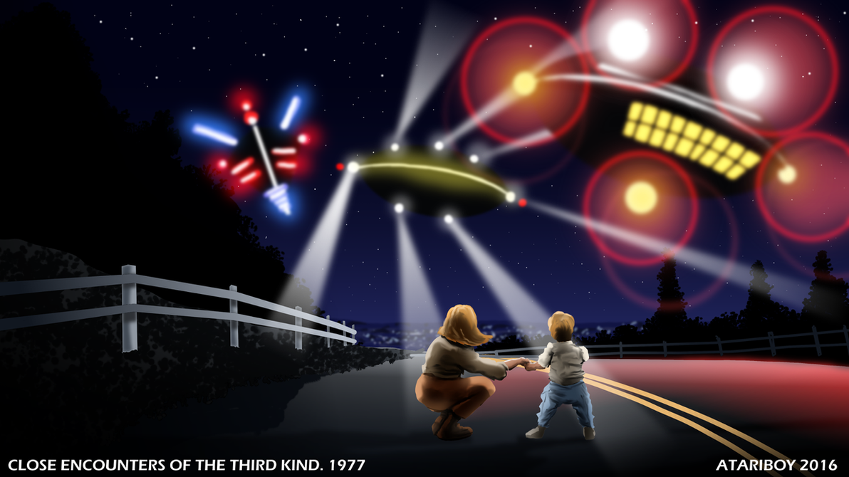 Close Encounters Of The Third Kind Wallpaper