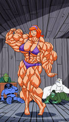 Daphne's Muscles These Are Real Monsters.