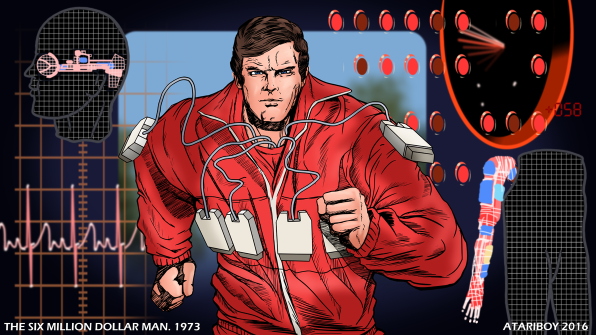 The Six million dollar man pictures