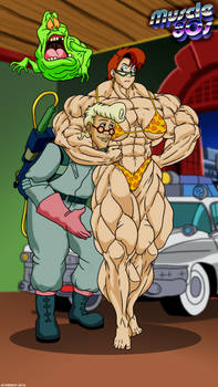 Muscle 80s - The Real Ghostbusters.