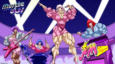 Muscle 80s - Jem And The Holograms.