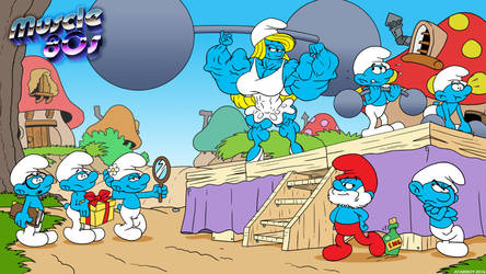 Muscle 80s - The Smurf.